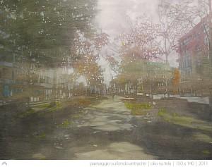 enrico-ingenito-paesaggio-su-fondo-antracite-2011-olio-su-tela-150x140