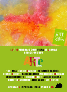 Contemporary Art Talent Show | 13/16 Febbraio 2015 - Genova