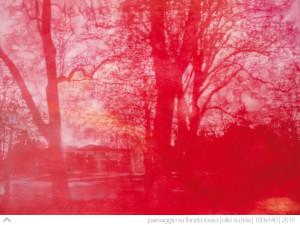 aesaggio-su-fondo-rosso-100x140-olio-su-tela-2015